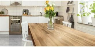 Drewniane blaty DLH – naturalne piękno i trwałość na lata