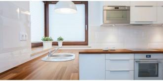 Drewniany blat kuchenny – jaki blat wybrać do kuchni?