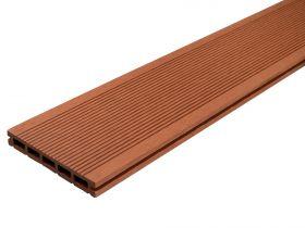 Deska Tarasowa Kompozytowa Solid 20x140 Jasny Braz Ryfel Waski Dlh