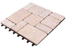 Kamienna kratka tarasowa 300x300 - Beż