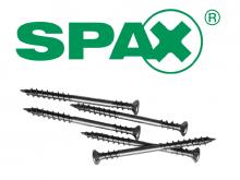 Wkręty tarasowe SPAX 400 szt. do drewna iglastego A2