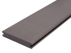 Deska Tarasowa Kompozytowa Solid 20x140 Szary Ryfel wąski