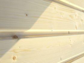 Elewacja drewniana - Świerk Skandynawski 19x121