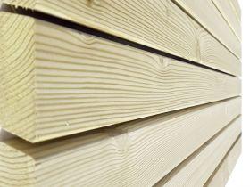 Elewacja drewniana - Świerk Skandynawski 27x68