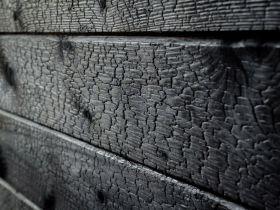 Elewacja Drewniana - Deska Palona Świerk Black Krak 19x146x2000/4000