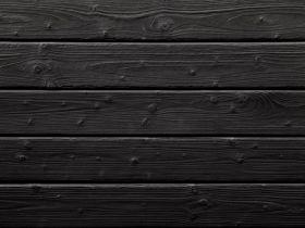 Elewacja Drewniana - Deska Palona Świerk Natural Black 19x146x2000/4000 P-Wpust