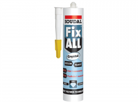 Klej-Uszczelniacz Fix All CRYSTAL 290 ml
