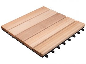 Kratka Tarasowa Drewniana 300x300 - Bangkirai 5 Lamelowy