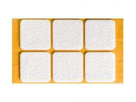 Podkładki filcowe kwadratowe 40x40 mm