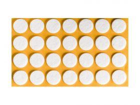 Podkładki filcowe okrągłe fi.20 mm