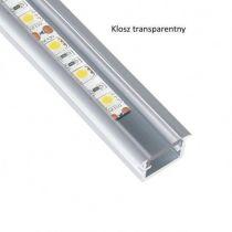 Profil aluminiowy INLINE MINI do LED 2m-wpuszczany