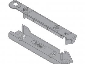 SERVO-DRIVE uchwyty profilu nośnego górny/dolny do korpusu z poziomym trawersem