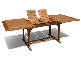 Stół ogrodowy rozsuwany prostokątny Fisher